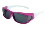 Fitover Overzetzonnebril Sonnenüberbrille Junior pink