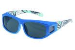 Fitover Overzet zonnebril Sonnen Überbrillen Guardian blue (XS)