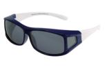 Fitover Overzetzonnebril Sonnenüberbrille Junior blue