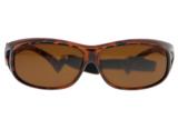 Fitover sunglasses Overzet zonnebril Sonnen Überbrillen Sun & Snow front