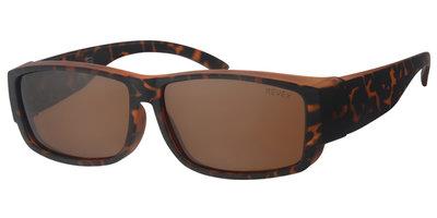 Overzet zonnebril Cover havanna (l/xl)