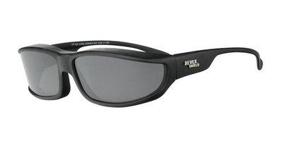 Fitover Overzetzonnebril Sonnenüberbrille 360 Black