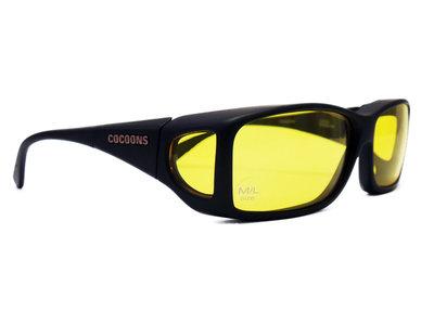 Lowvision Fitover Overzet bril überbrille Lemon(model: C422L)