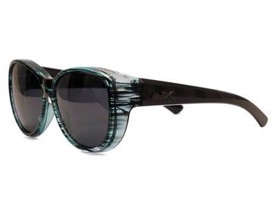 Fitover Overzetzonnebril Sonnen Überbrillen Olive Blue (Model: POL506)