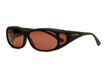 Lowvision Fitover Overzet bril überbrille Boysenberry M   (Model: C412B MS)