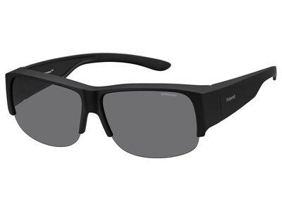fitover sunglasses Polaroid suncover 9007 black (l/xl)