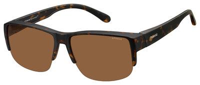 fitover sunglasses Polaroid suncover 9006 havanna (XL)