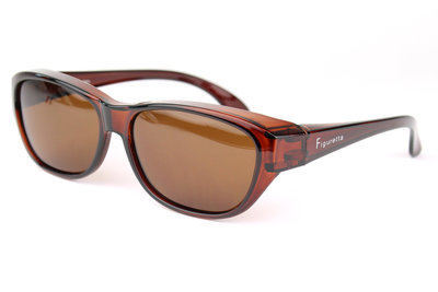 Fitover sunglasses Wave brown (L)