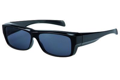 Fitover Overzetzonnebril Sonnenüberbrille Urban blac VZ0019Ak
