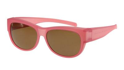 Fitover Overzetzonnebril Sonnenüberbrille Wayfarer pink VZ0023LQ