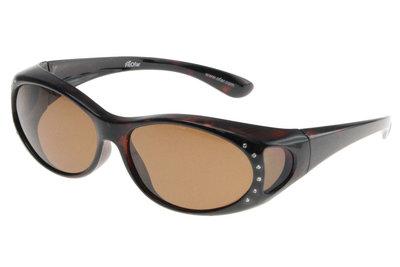 Fitover Overzetzonnebril Sonnenüberbrille Diamond
