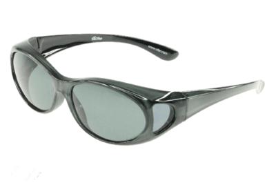 Fitover Overzetzonnebril Sonnenüberbrille Fitover Grey metallic