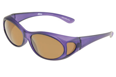 Fitover Overzetzonnebril Sonnenüberbrille Fitover Lila
