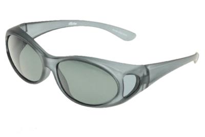 Fitover Overzetzonnebril Sonnenüberbrille Fitover matte grey