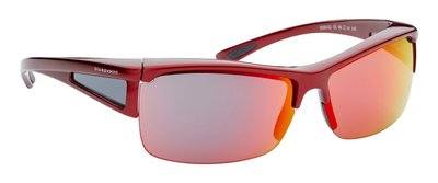 fitover sunglasses Sport red mirror (l/xl)